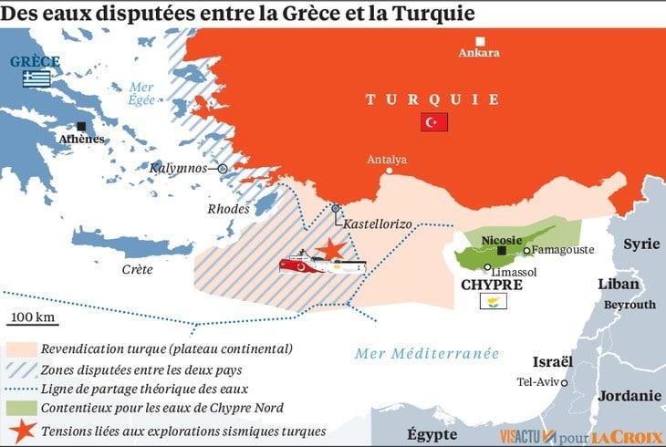 Méditerranée orientale: Le droit au centre des contestations, la force à son service