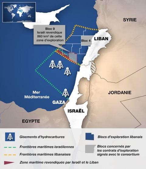 Liban-Israël : les frontières de la discorde