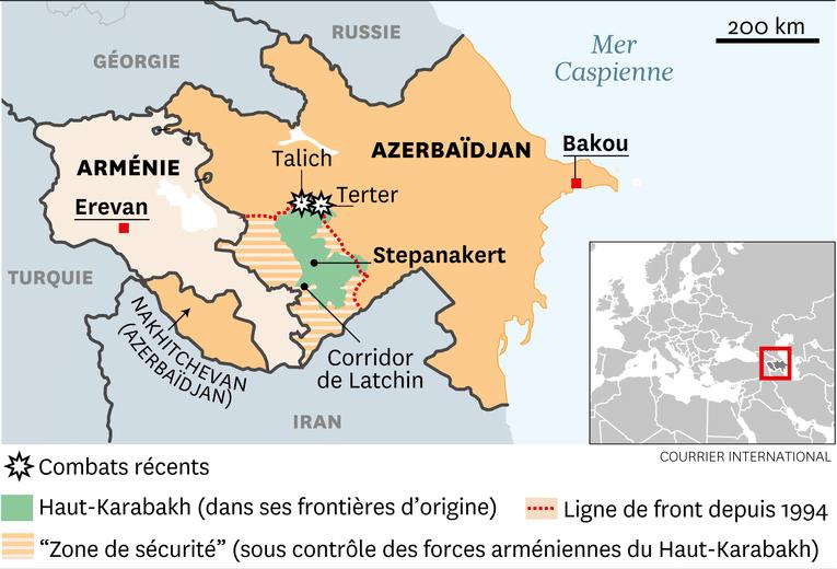 Une neutralité impossible: l'Iran et le conflit dans le Haut-Karabakh