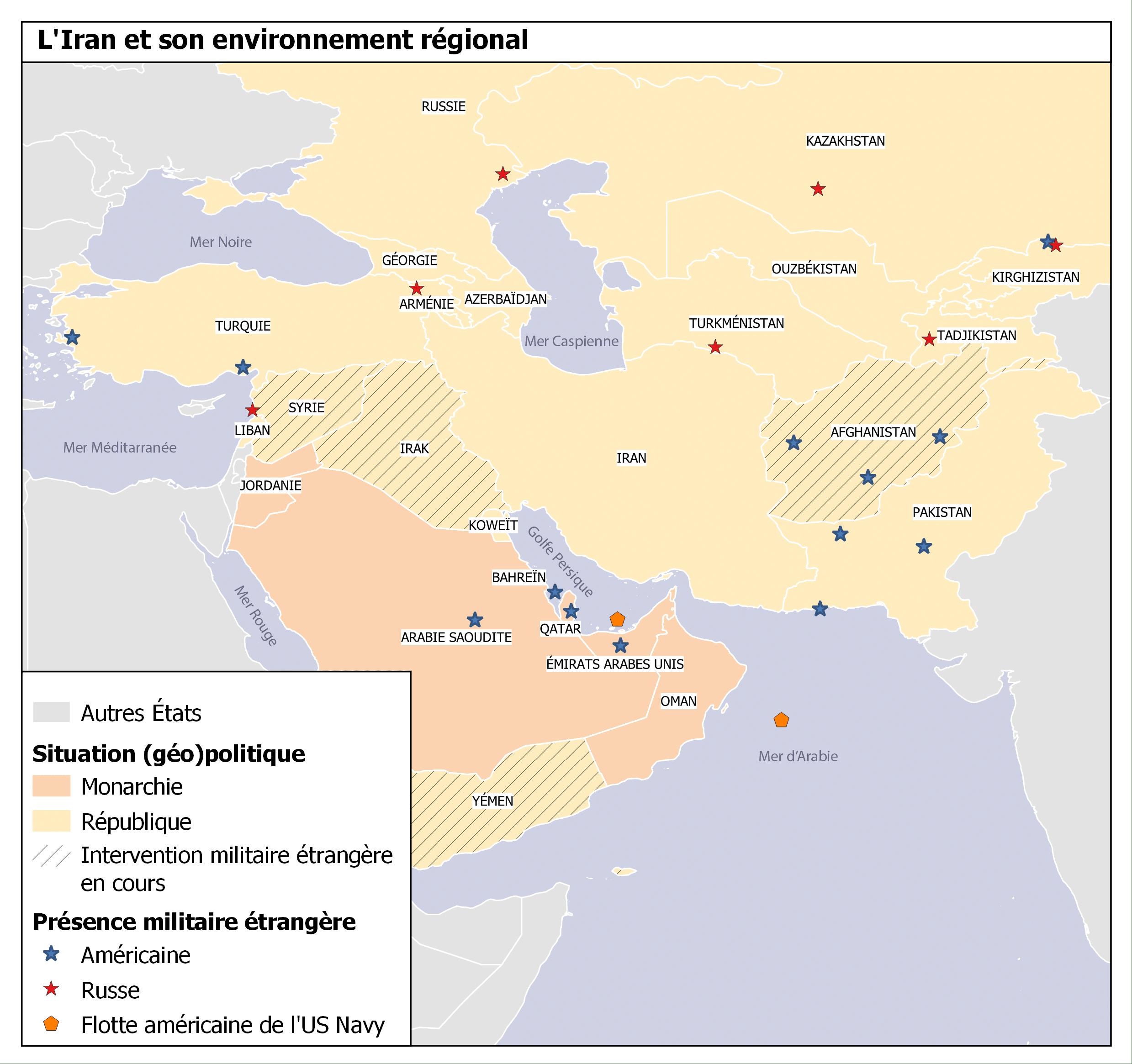 L'Iran et le conflit syrien: renforcement du «front de la résistance»